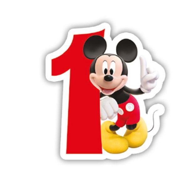 Bougie chiffre mickey et ses amis 6 cm prix minis sur - Mickey mouse et ses amis ...