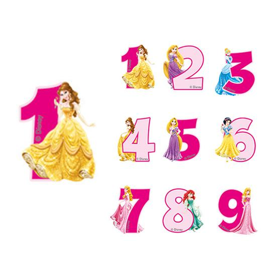 bougie chiffre jolies princesses disney 6 cm prix minis sur. Black Bedroom Furniture Sets. Home Design Ideas