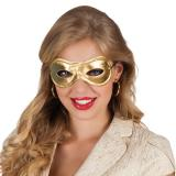 "Masque ""Loup pour Lady glamour"" - or"