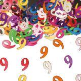 """Confettis d'anniversaire """"Chiffres multicolores"""" 14 g - 9"""