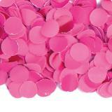 Confettis en papier uni 100 g - rose