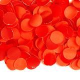 Confettis en papier uni 100 g - rouge