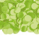 Confettis en papier uni 100 g - vert clair