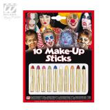 10 crayons de maquillage