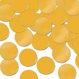 Confettis métallisés unis 28 g - or
