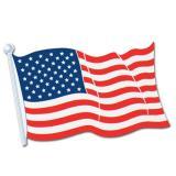 "Drapeau en carton ""USA"" 43 x 31 cm"