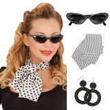 """Kit d'accessoires """"50ies Lady"""" 4 pcs."""