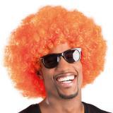 Perruque afro - orange
