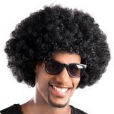 Perruque afro - noir