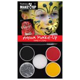 "Set de maquillage Aqua ""Abeille et hanneton"" 6 pcs"
