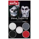 """Set de maquillage Aqua """"Dracula et la Mort"""" 6 pcs"""