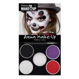 """Set maquillage Aqua """"Monstrueux personnage"""" 6 pièces"""