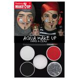 "Set de maquillage Aqua ""Pirate, roi et chevalier"" 6 pcs"