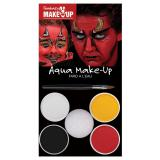 "Set de maquillage Aqua ""Diable et démon"" 6 pcs"