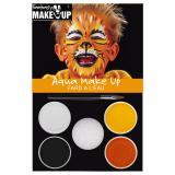 "Set de maquillage Aqua ""Tigre"" 6 pcs"