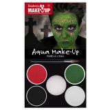 "Set de maquillage Aqua ""Zombie"" 6 pcs"