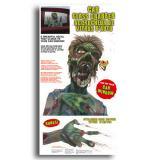 """Autocollant statique """"Zombie"""" 2 pcs"""
