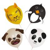 """Ballons à décorer """"Mes animaux préférés"""" 18 pcs."""