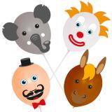 """Ballons à décorer """"Cirque"""" 18 pcs."""