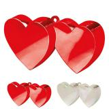 "Support pour ballon ""Coeurs enlacés"""
