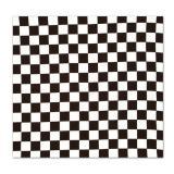 Bandana avec carrés noirs & blancs