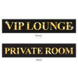"""Bannière """"VIP Lounge"""" 70 x 13 cm"""