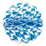 """Déco de plafond Bavière """"Ballon en papier crépon"""" 28 cm"""
