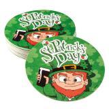"""10 dessous de verre """"Heureuse St. Patrick's Day"""""""