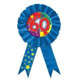 "Rosette bleue ""60 ans"""