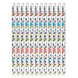 """12 crayons à papier """"Ballon de foot coloré"""""""