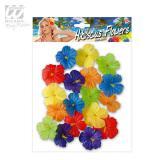 """Déco confettis """"Fleurs d'hibiscus"""" 18 pcs"""