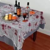 Drap de table ensanglanté 152 x 213 cm