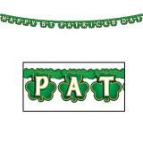 """Guirlande de lettres """"Happy St. Patrick's Day"""" 2,1 m"""
