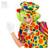 Chapeau de clown multicolore