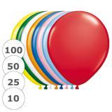 Ballons de baudruche colorés & unis