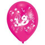 """8 ballons de baudruche colorés """"18 ans - Party"""""""