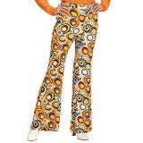 Pantalon pattes d´eph´ multicolore pour femme