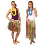 Jupe hawaïenne colorée