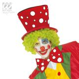 Chapeau de clown à pois