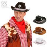 "Chapeau de Cowboy ""Shérif"""