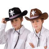 """Chapeau de cowboy """"Shérif"""" pour enfant"""