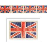 """Ruban de déco """"England"""" 1 m"""