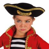 """Chapeau tricorne pour enfant """"Pirate"""""""