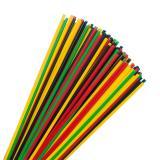 100 pailles multicolores