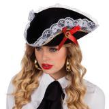 """Tricorne """"Femme de pirate"""""""