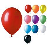 12 ballons de baudruche unicolores