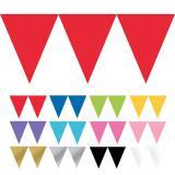 """Guirlande en papier unicolore """"Jeux de couleurs"""" 4,5 m"""