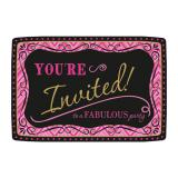 "20 cartons d'invitation ""Fabulous Birthday"" avec enveloppes"