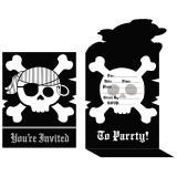 """8 cartons d'invitation """"La nuit des pirates"""""""