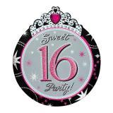 "8 cartons d'invitation ""Sweet 16"" avec enveloppes"